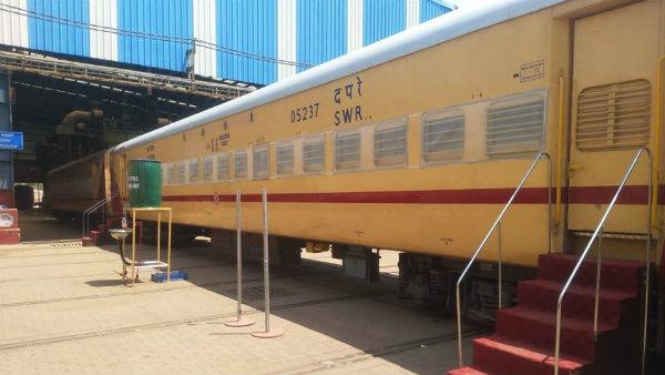 ಕೋವಿಡ್ - 19 ಚಿಕಿತ್ಸೆಗಾಗಿ 215 ರೈಲ್ವೆ ನಿಲ್ದಾಣ ಗುರುತಿಸಿದ ಕೇಂದ್ರ