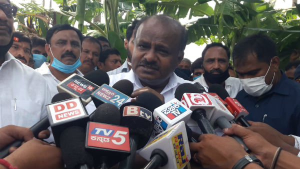 Former CM HD Kumaraswamy Accused On State Government