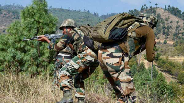Encounter Breaks Out Between Security Forces Terrorists In Srinagar