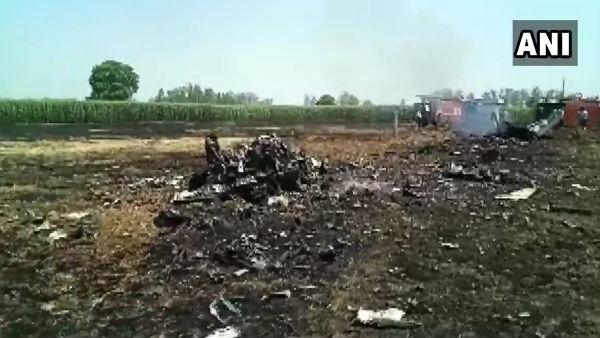 ಪಂಜಾಬ್ನಲ್ಲಿ ತರಬೇತಿ ಹಂತದಲ್ಲಿದ್ದ ಮಿಗ್-29 ಯುದ್ಧ ವಿಮಾನ ಪತನ
