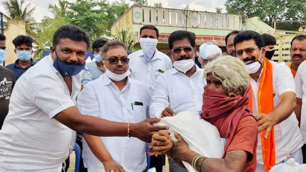 Alleges Of Distributing Poor Quality Food Against Excise Minister H Nagesh In Kolar