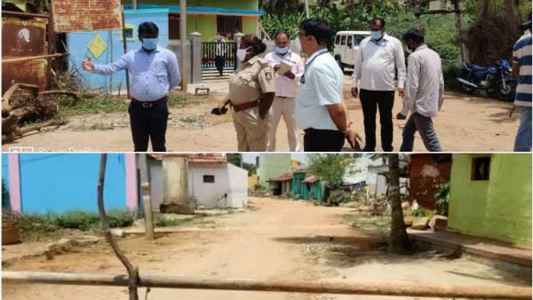Two Villages Seal Down In Nanjanagudu Because Of Mandya Coronavirus Positive Person Visit