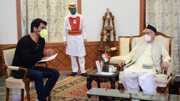 ಸೋನು ಸೂದ್ ಕಾರ್ಯಕ್ಕೆ ಮಹಾರಾಷ್ಟ್ರ ರಾಜ್ಯಪಾಲರ ಚಪ್ಪಾಳೆ
