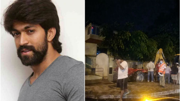 Tractor Hits to Rocking star Yash Home