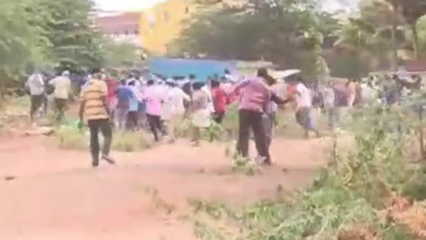 People Protest: Light Lathi Lash In Davanagere