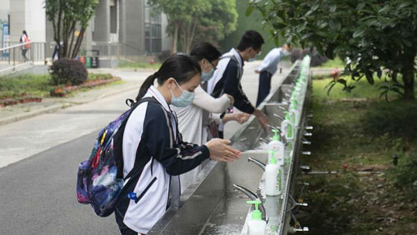 Schools Reopen In Wuhan For The First Time In Three Months