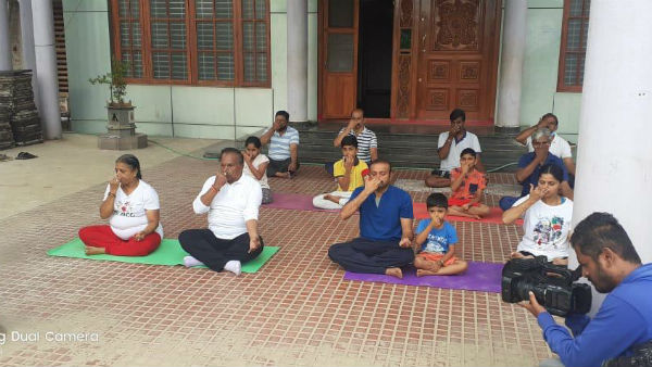 will discuss with Suresh kumar to make yoga education compulsory in Shimoga district: Eshwarappa