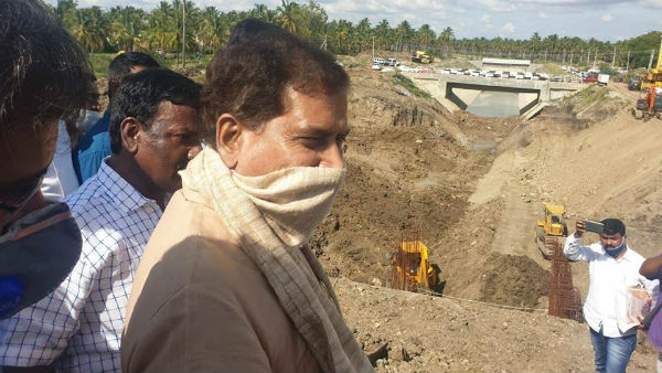 Shivani Ajjampura Railway Underpass Work Completed