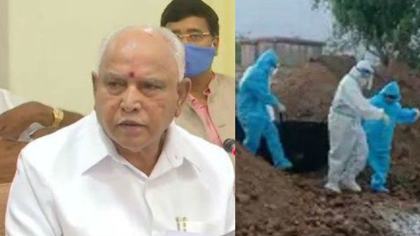 Cm Yediyurappa And Sriramulu React About Viral Video Of Coronavirus Patients Funeral