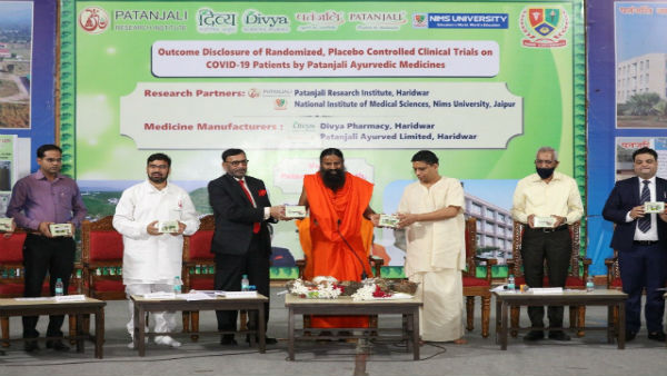 Rajasthan Govt not give permission to sell Patanjali anti Corona drug