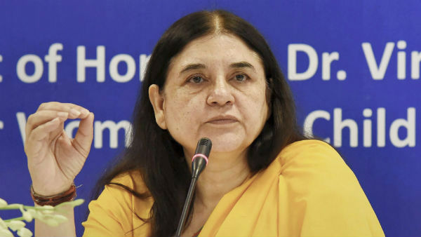 Malappuram police files case against Maneka Gandhi