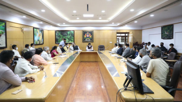 11 Private And 3 Medical Colleges Reserved For Covid 19 Patients: Minister Dr.k.sudhakar