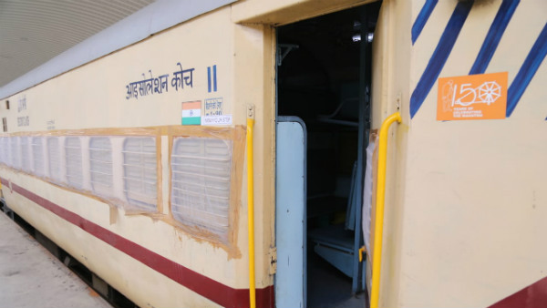 First Patient Arrives At Shakur Basti COVID Care Center Of Railways