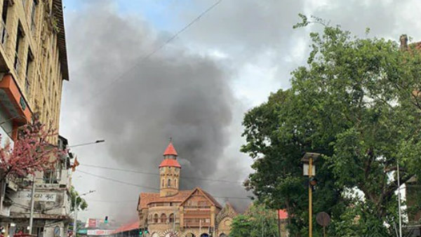Fire Breaks Out At Mumbais Iconic Crawford Market, Fire Engines Rushed
