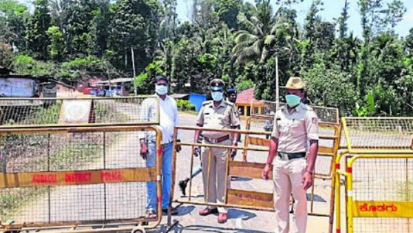 Six Areas Seal Down In Kodagu As 14 Cases Found In One Day