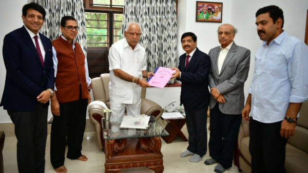 Advocates Council thanks CM BSY for Rs 5 Cr grant