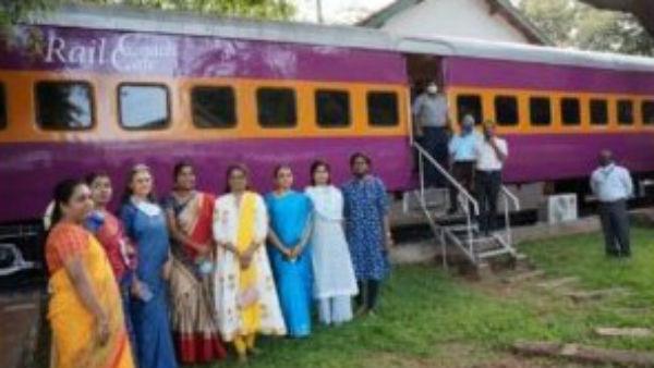 ಮೈಸೂರು: ಜನಮನ ಸೆಳೆಯುತ್ತಿದೆ ರೈಲ್ವೆ ವಸ್ತು ಸಂಗ್ರಹಾಲಯದ ಕೆಫೆಟೇರಿಯ