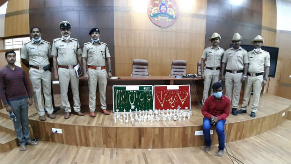 Magadi Police Arrested Thief And Seized 25 lakh Worth Jewelery