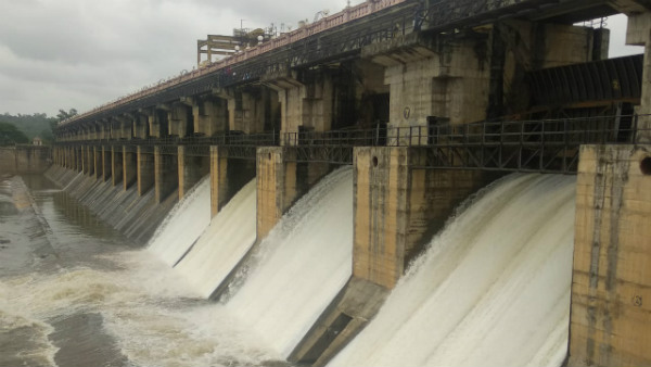 2000 Cusecs Water Released From Tunga Dam In Shivamogga