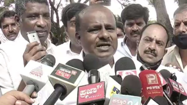 I Will Contest From Channapatna Constituency In Next Assembly Election: HD Kumaraswamy