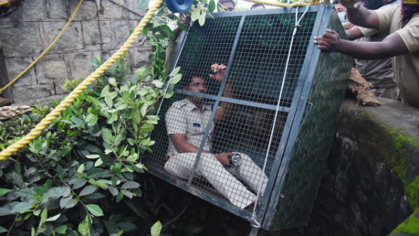 Nagarahole RFO Enters 100-Ft Dry Well To Rescue Leopard In Mysuru
