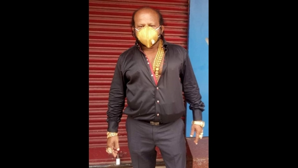 Odisha Man Gets A Gold Mask For 3.5 Lakh