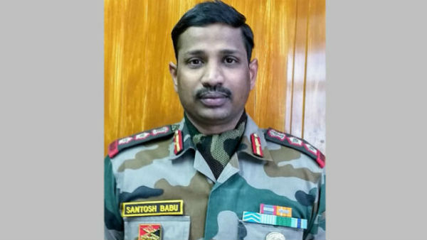 Galwan Valley Martyr Colonel Santosh Babus Wife Appointed As Deputy Collector