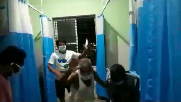 Coronavirus Infected Peoples Danced In Covid Care Center To Improve Self Confidence
