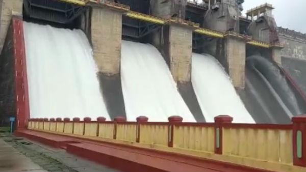 5000 Cusecs Of Water Released From Harangi Reservoir