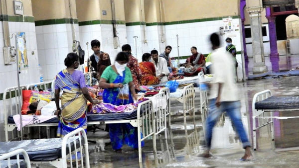 Heavy Rains In Hyderabad: Coronavirus Patients Flooded In Osmania General Hospital