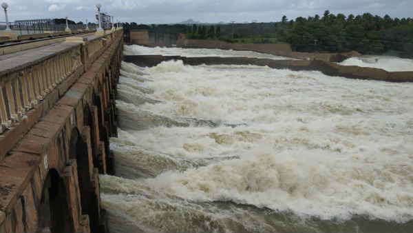 KRS Reservoir Inflow Increased Due To Rain In Cauvery River Basin