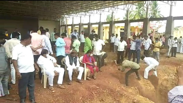 Dalit Leaders Tried To Siege On Holalkere MLA M Chandrappa