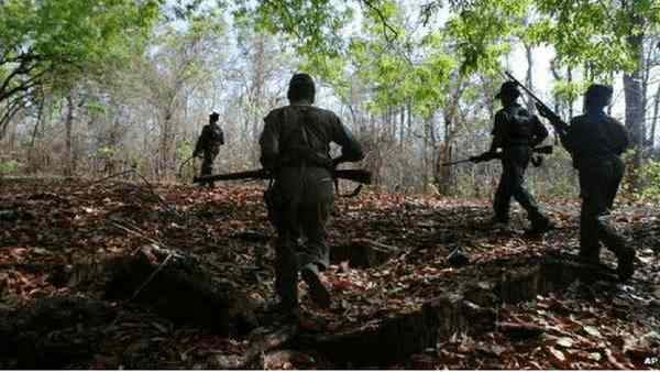 4 Naxals Killed In Encounter With Security Forces In Bihar