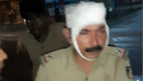 Person Assault On Four Policemen Including ASI In Bantwala Of Dakshina Kannada District