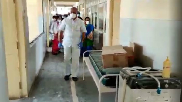 Bangalore: Governments Decision To Treat Coronavirus Infection At ESI Hospital In Indira Nagar