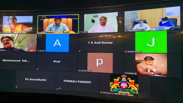 Coronavirus: Highlights of Minister Dr.Sudhakar Video Conference With senior Officers