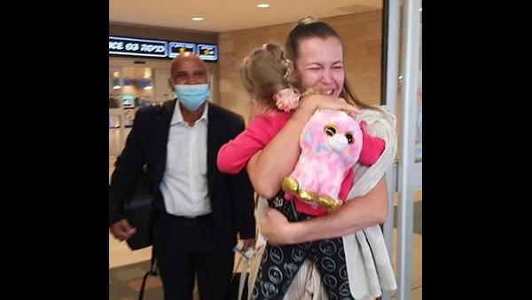 Tearful Reunion As 3-Year-Old, Stranded Due To Covid