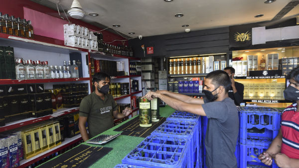 Bengaluru Lockdown Guidelines Liquor Sales Banned