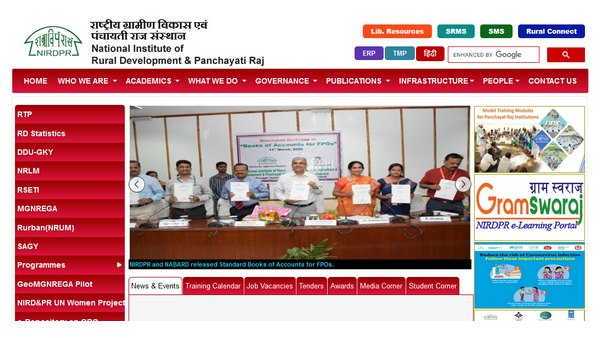 Nirdpr Recruitment 2020 Apply For 510 Young Fellow And Various Post