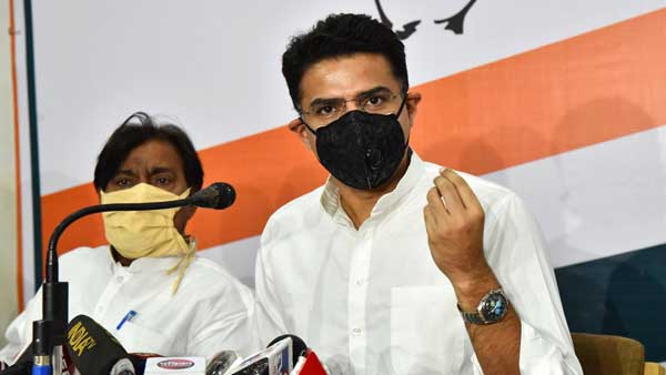 Sachin Pilot clears the air, says he is not joining BJP