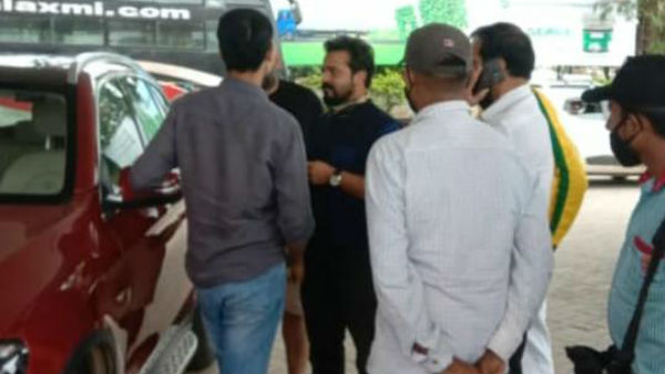 Shivamogga: Actor Vijay Raghavendra's Car Filled With Wrong Fuel At Fuel Station