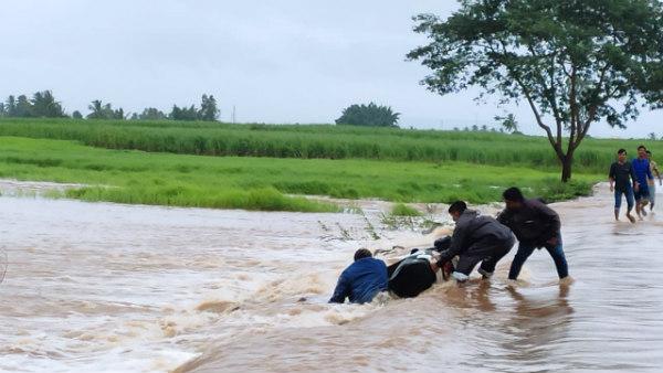 ಬೆಳಗಾವಿ: ಮಹಾರಾಷ್ಟ್ರದಲ್ಲಿ ಸುರಿಯುತ್ತಿರುವ ಭಾರೀ ಮಳೆಯಿಂದ ಕೃಷ್ಣೆಗೆ ಪ್ರವಾಹ ಭೀತಿ