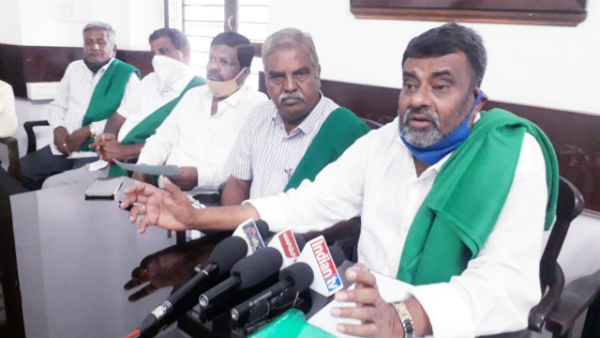 Mysuru: Farmers Leader Badagalapura Nagendra Warned State Government
