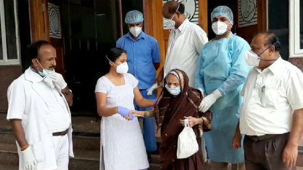110 Year Old Woman Recovered From Coronavirus In Chitradurga