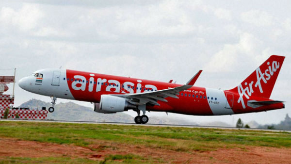 Air Asia Flight Aborted Take Off At Ranchi Airport Due To A Bird Hit