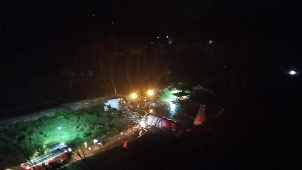 Just In: ಏರ್ ಇಂಡಿಯಾ ವಿಮಾನ ಅವಘಡ, ಇಬ್ಬರು ಸಾವು