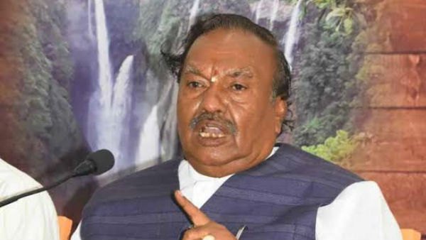 On Mathura And Kashi Statement: I Am Ready To Go To Jail For 100 Times, KS Eshwarappa