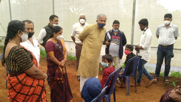 Education Minister Visited Chikkamagaluru And Interacted With Students