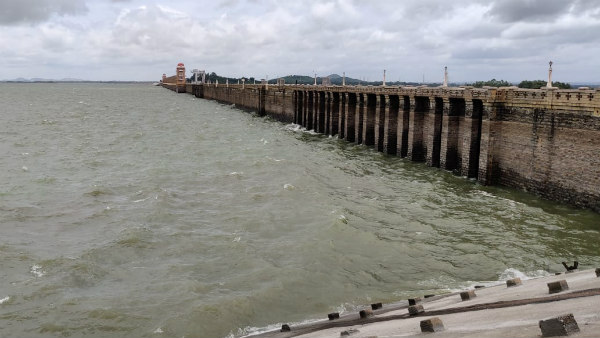 Ballari: 81218 Cusecs Of Water Inflow At Tungabhadra Dam