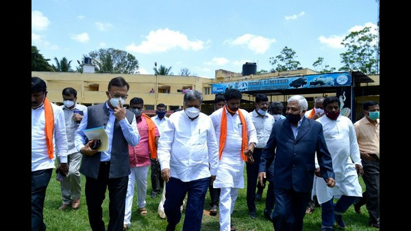 Kolar: Minister Jagdish Shetter Instructed To Complete Survey Of 3,200 Acre Land
